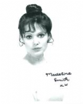 Madeline Smith (Hammer Horror) - Genuine Signed Autograph 8241
